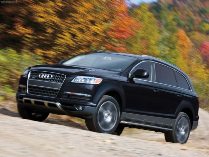 Audi Q7 2008 suv wallpaper