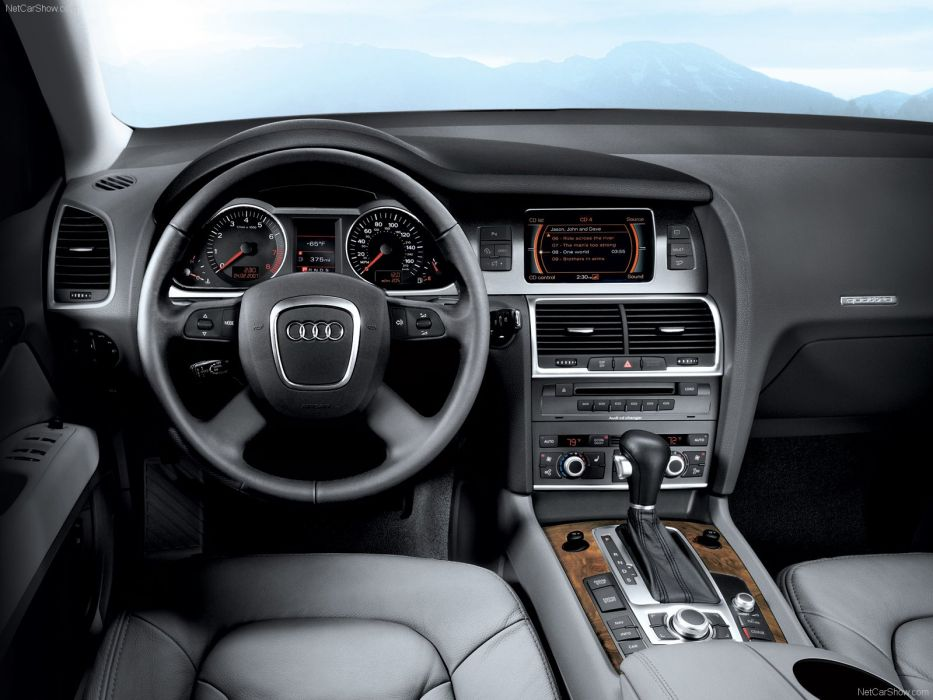 Audi Q7 2008 suv interior wallpaper