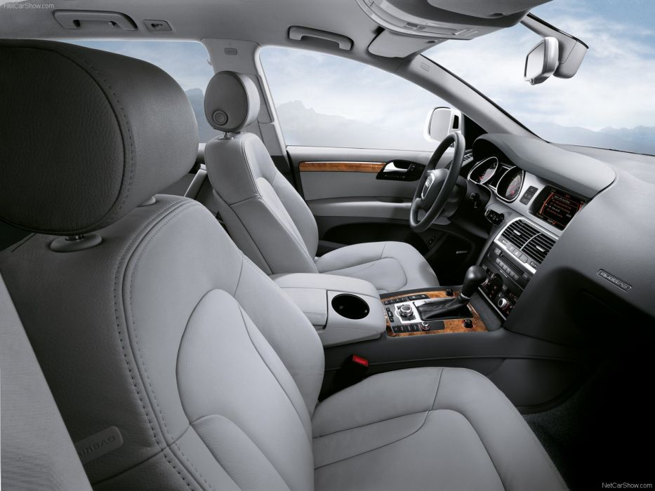Audi Q7 2008 suv interior wallpaper