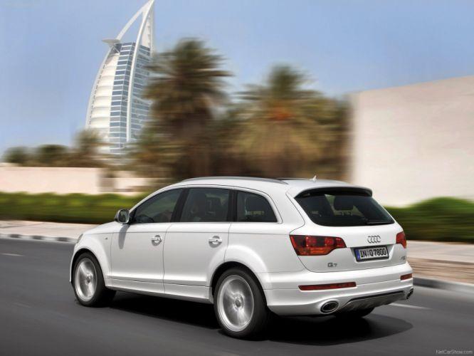 Audi Q7 V12 TDI suv 2009 wallpaper