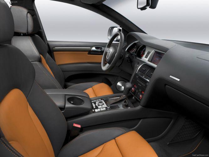 Audi Q7 V12 TDI suv 2009 interior wallpaper
