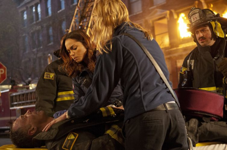 CHICAGO FIRE action drama series wallpaper