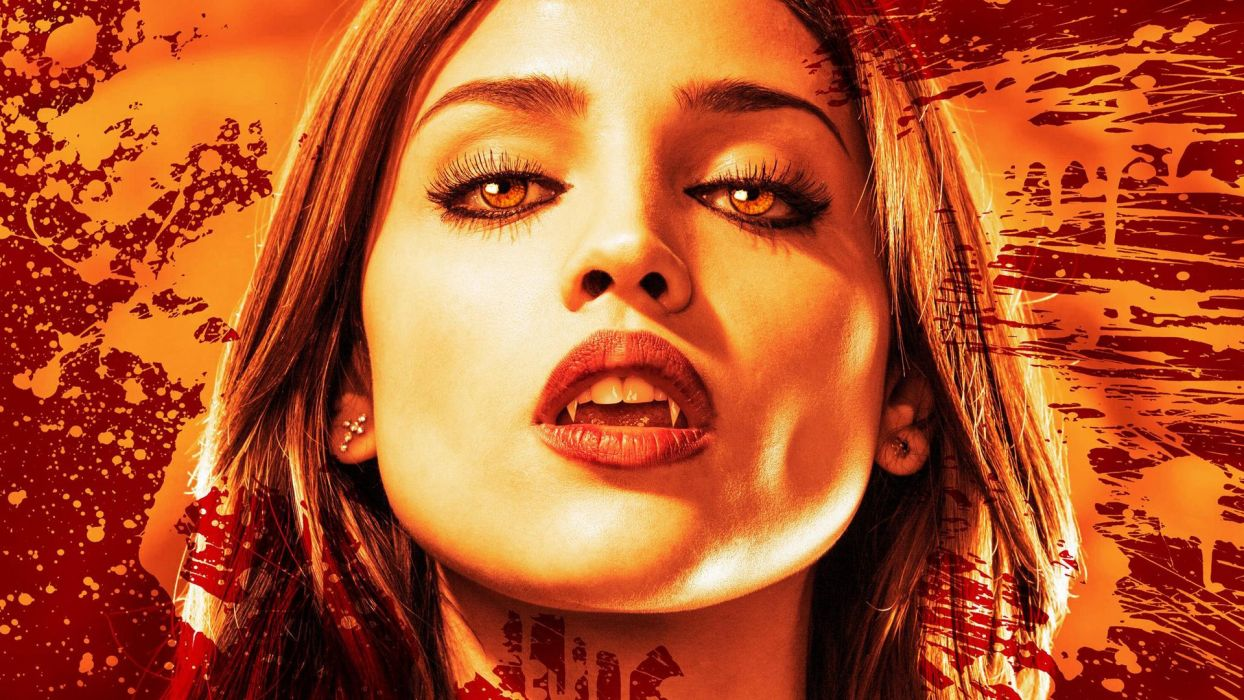 FROM DUSK TILL DAWN action crime horror series vampire wallpaper