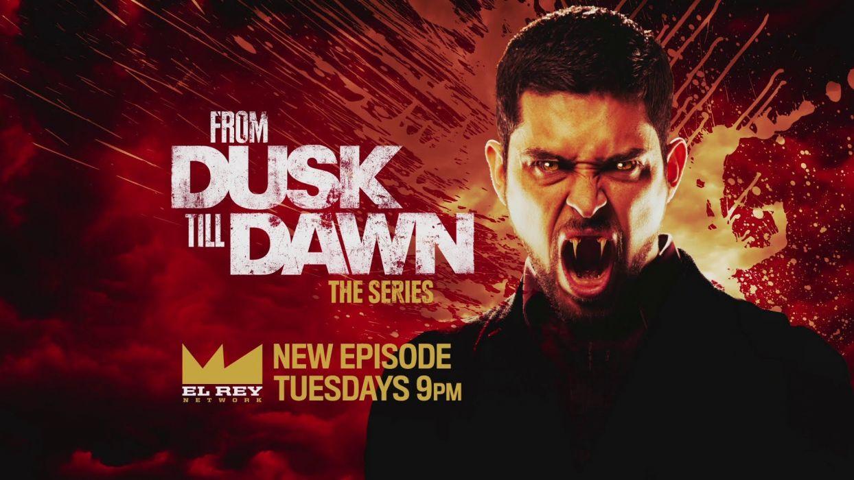 From Dusk Till Dawn Action Crime Horror Series Vampire Wallpaper