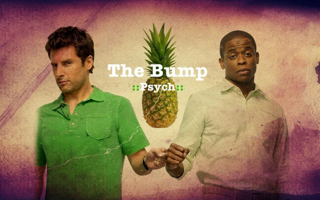 PSYCH comedy crime mystery series wallpaper