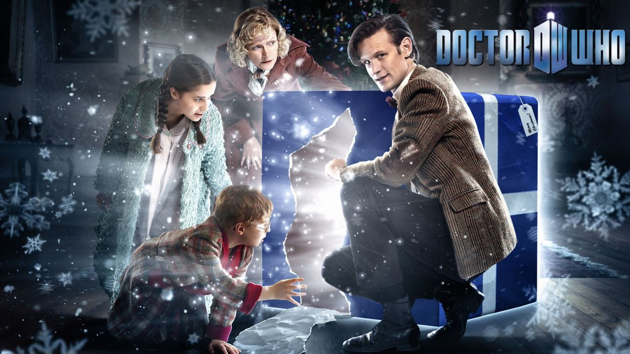 Doctor Who Christmas wallpaper