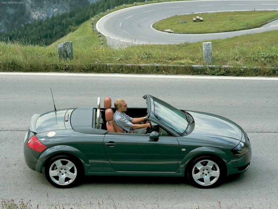 Audi TT Roadster 2000 wallpaper
