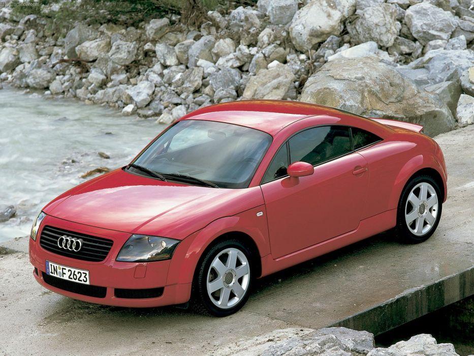 Audi TT coupe 2001 wallpaper