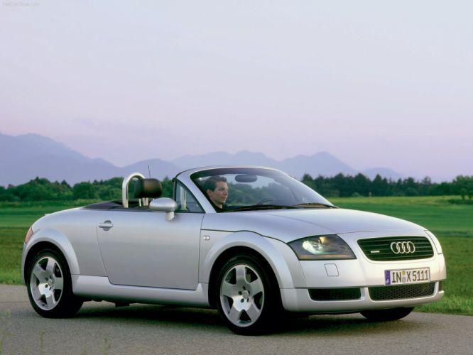 Audi TT Roadster wallpaper