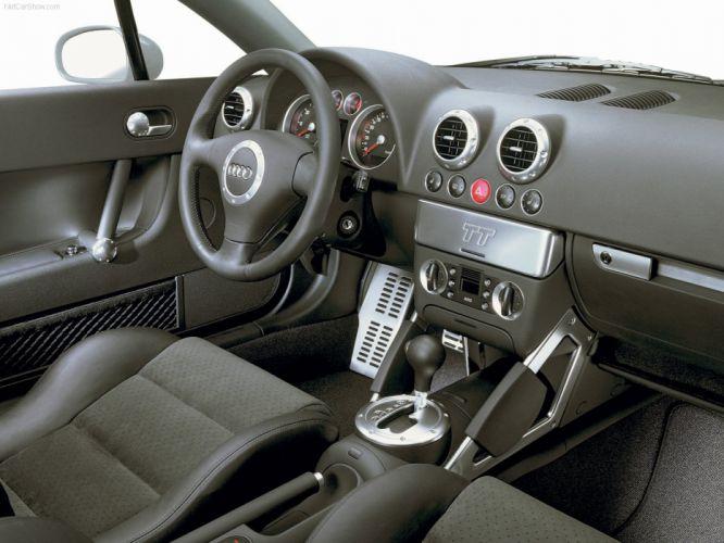 Audi TT 32 DSG quattro coupe interior 2003 wallpaper