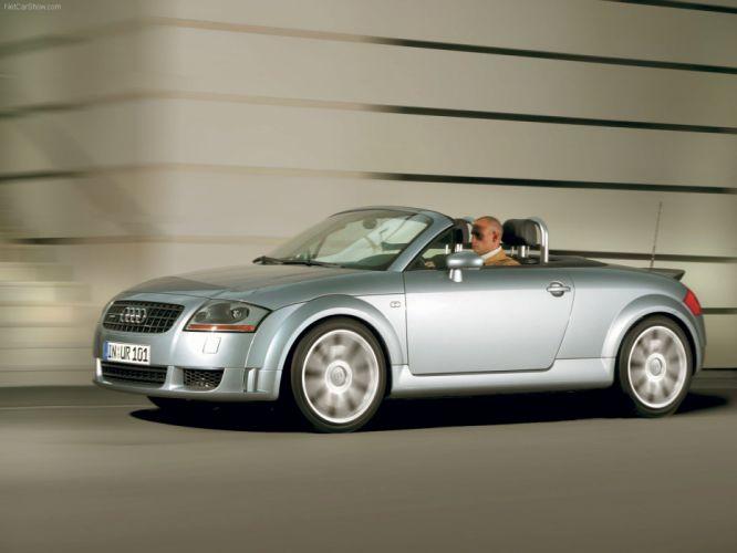 Audi TT Roadster 32 quattro 2003 wallpaper