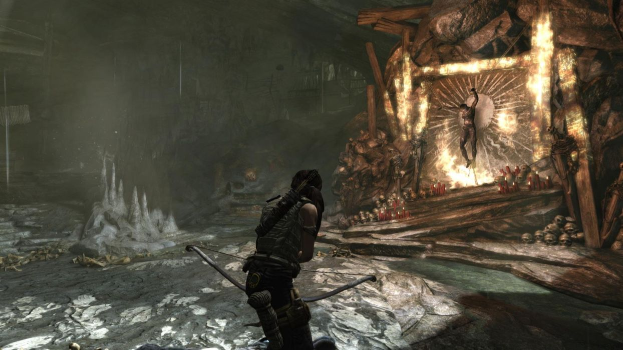 Lara Croft Tombraider Sacrifice wallpaper
