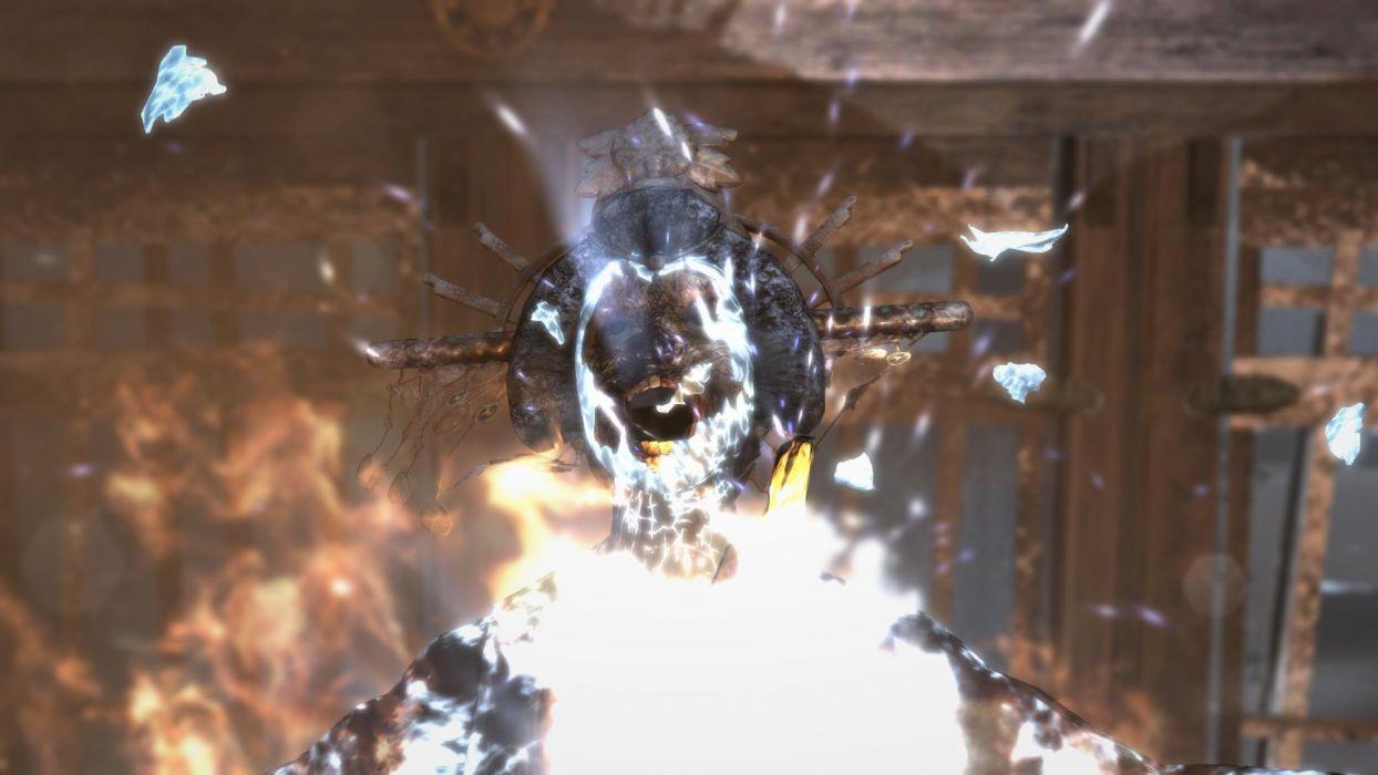Lara Croft Tombraider Himiko wallpaper