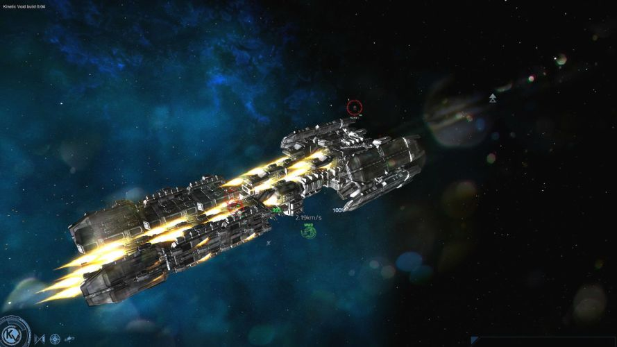 KINETIC-VOID sci-fi spaceship space adventure 3-d sandbox kinetic void wallpaper