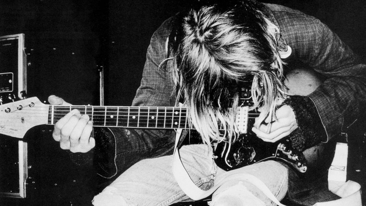 Kort Cobain wallpaper