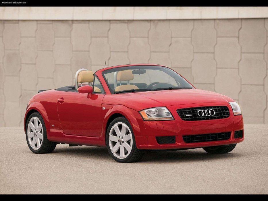 Audi TT Roadster 3 2 v6 2005 wallpaper