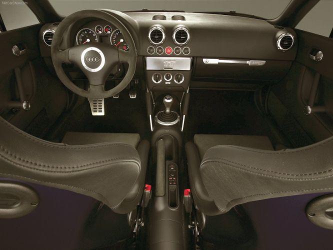 Audi TT quattro sport coupe interior 2005 wallpaper