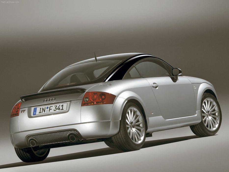 Audi TT quattro sport coupe 2005 wallpaper