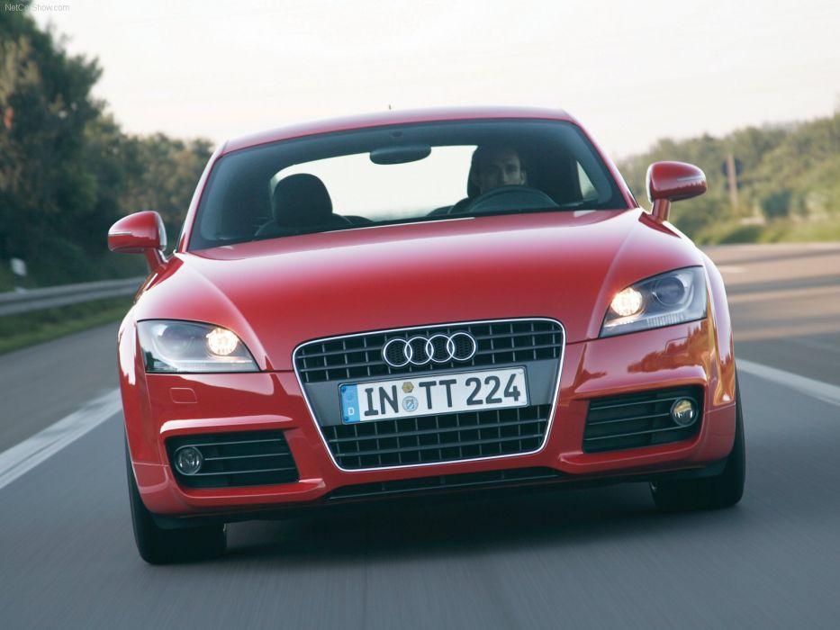 Audi TT Coupe S-line 2007 wallpaper