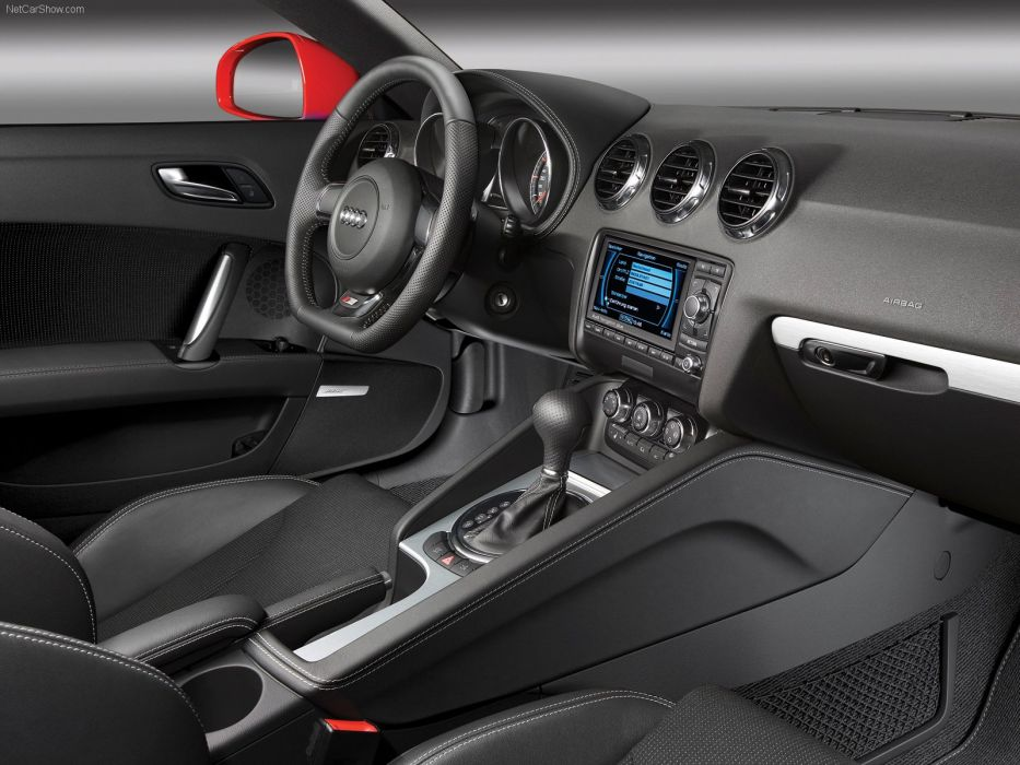 Audi TT Coupe S-line 2007 interior wallpaper