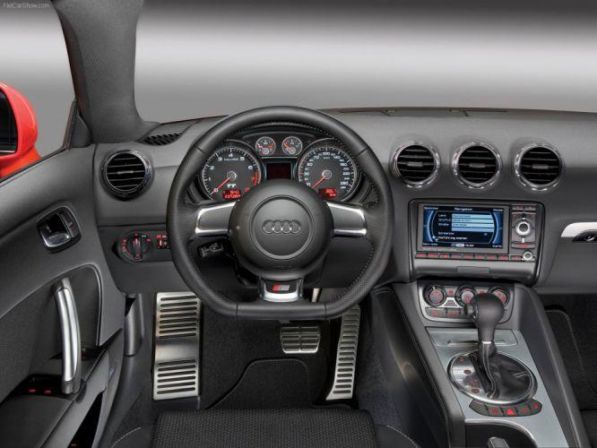 Audi TT Coupe S-line 2007 interior wallpaper