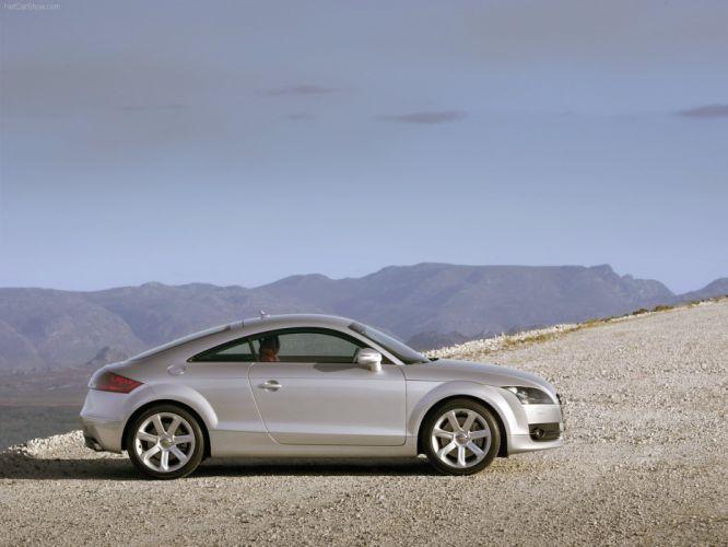 Audi TT Coupe 2007 wallpaper