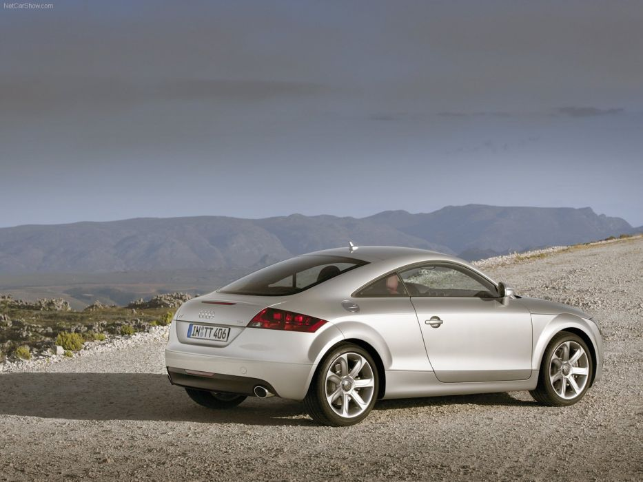 Audi TT Coupe 2007 wallpaper