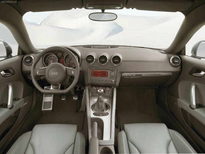 Audi TT Coupe 2007 interior wallpaper