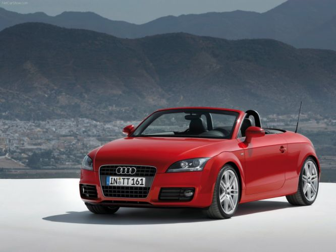 Audi TT Roadster TFSI 2007 wallpaper