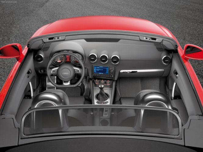 Audi TT Roadster TFSI 2007 interior wallpaper