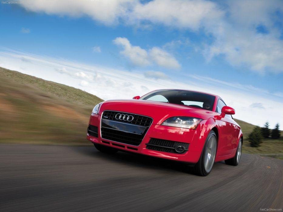 Audi TT Coupe 2008 wallpaper