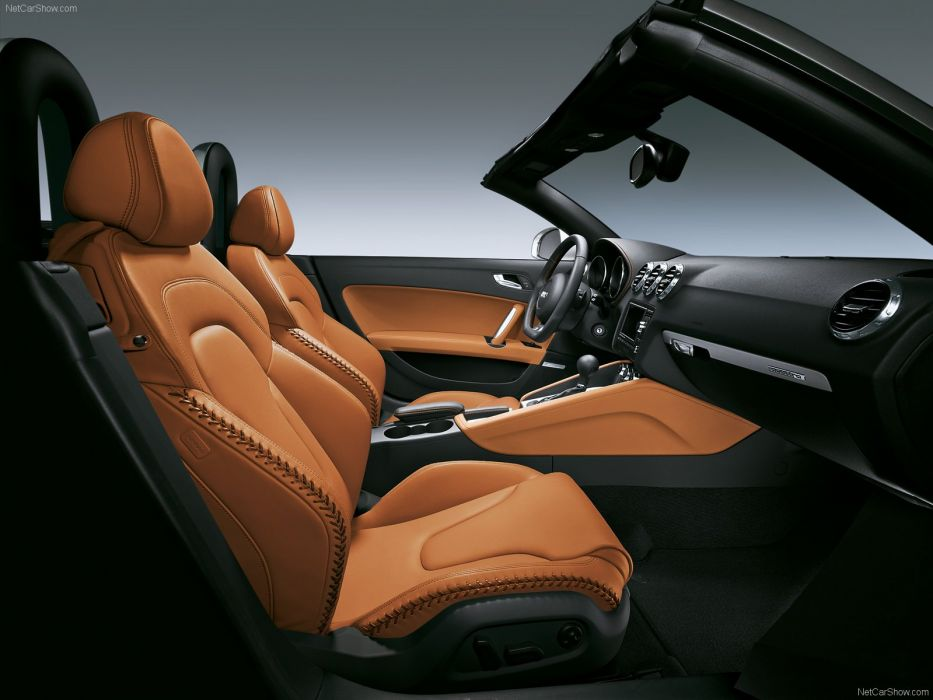 Audi TT Roadster quattro 2008 interior wallpaper