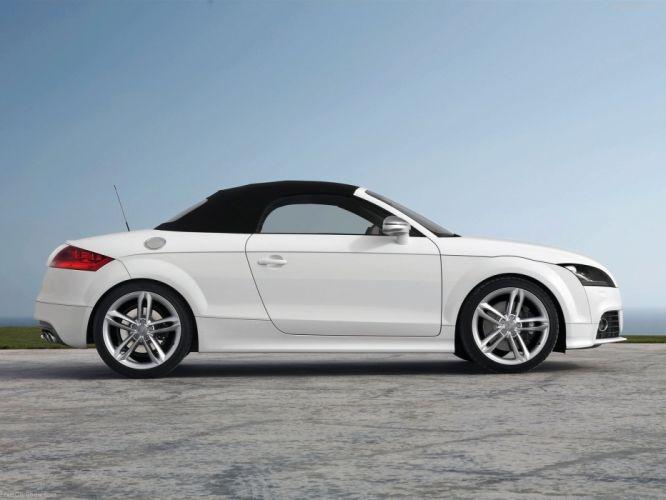 Audi TTS Roadster 2009 wallpaper