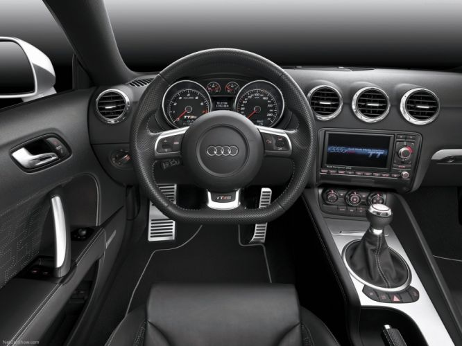 Audi TT RS coupe 2010 interior wallpaper