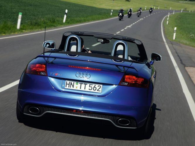 Audi TT RS Roadster 2010 wallpaper
