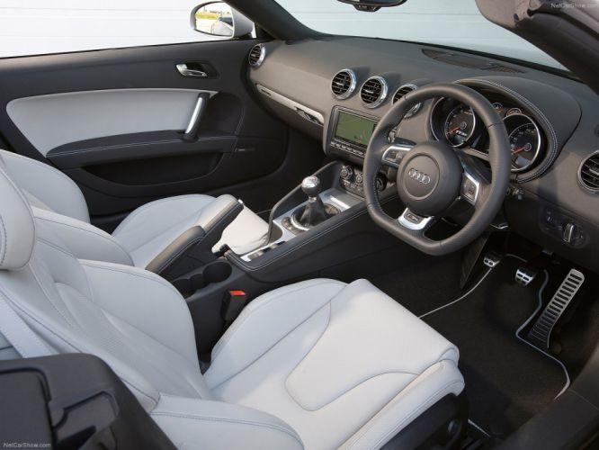 Audi TT RS Roadster 2010 interior wallpaper