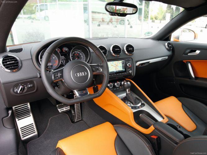 2011 Audi Coupe tts interior wallpaper
