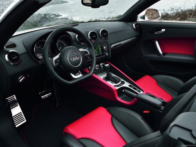 Audi TTS Roadster 2011 interior wallpaper