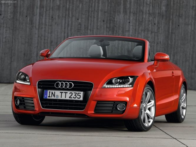 Audi TT Roadster 2011 wallpaper
