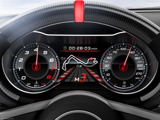 2013 Audi Concept quattro ultra interior wallpaper