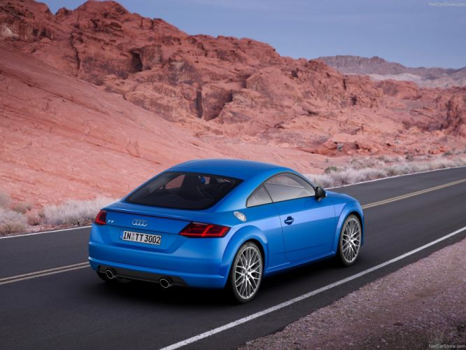Audi TT Coupe 2015 wallpaper