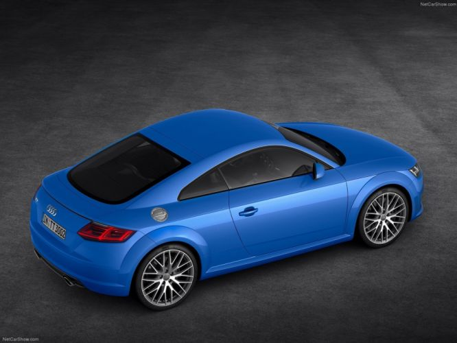 Audi TT Coupe 2015 wallpaper