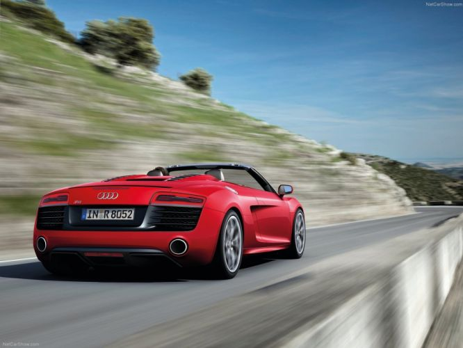 2013 Audi spyder v10 wallpaper