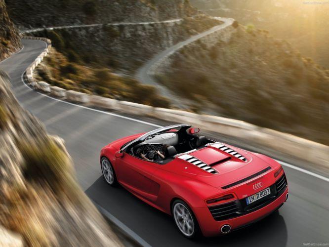 2013 Audi spyder v10 wallpaper