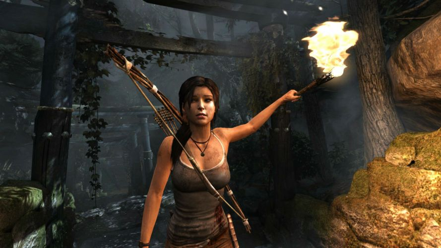 TOMB RAIDER action adventure lara croft fantasy wallpaper