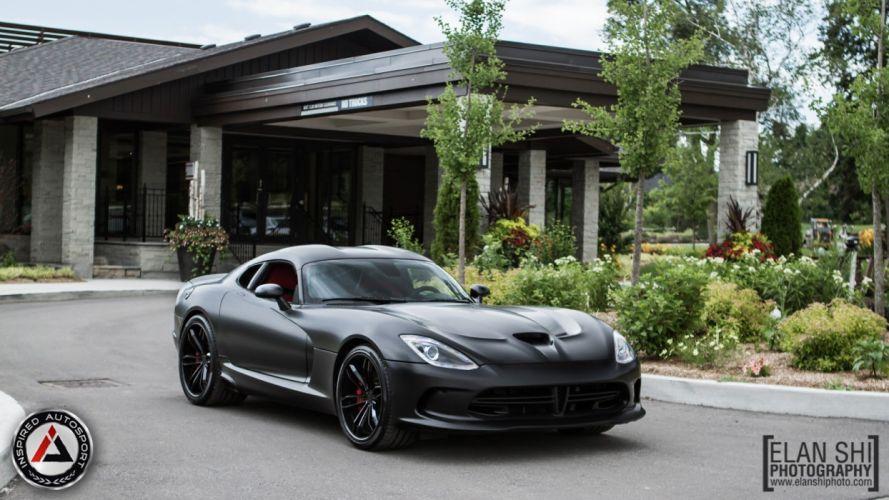 viper srt PUR Wheels black tuning wallpaper