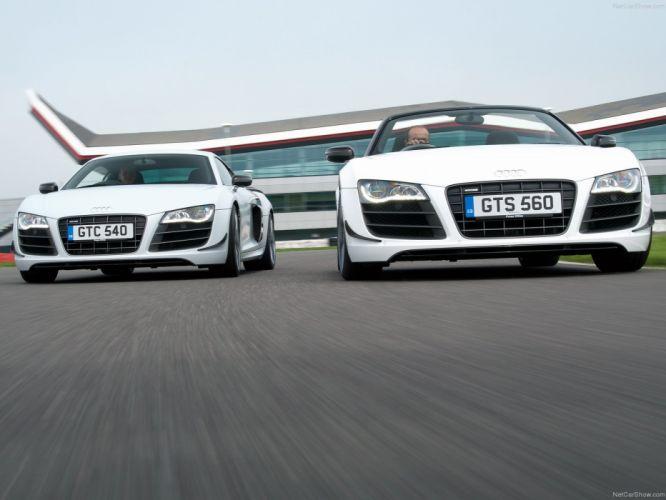 2012 Audi r8 spyder supercars wallpaper