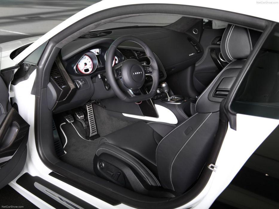 2012 Audi r8 exclusive selection supercars interior wallpaper