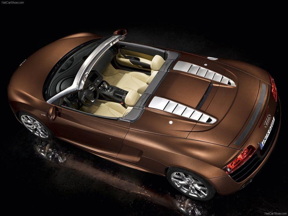 Audi R8 Spyder v10 5-2 FSI quattro supercars wallpaper