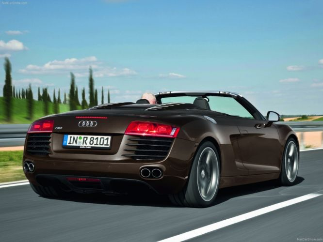 4 2 Audi fsi quattro spyder supercars v8 2011 wallpaper